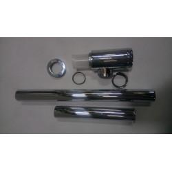 Siphon de lavabo métal chromé PF