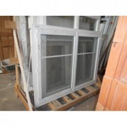 Fenêtre 2 ouvrants FR PVC 128/169