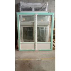 Porte-fenêtre 2 ouvrants FR PVC 193/180
