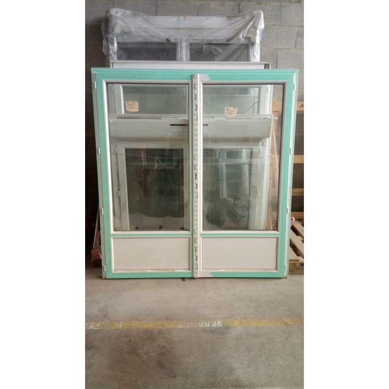 Porte Fenêtre 2 Ouvrants Fr Pvc 193180