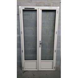 Porte-fenêtre 2 ouvrants FR ALU 215/115...