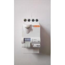 Interrupteur différentiel 40A 30mA TypeA IDclicXP