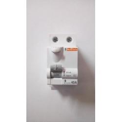 Interrupteur différentiel 40A 30mA TypeA IDclicXE