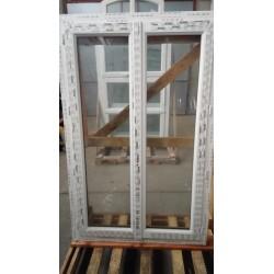 Fenêtre 2 ouvrants FR PVC 162/98