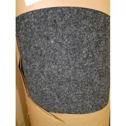 Sol textile aiguilleté (Noir) FORBO 54m²