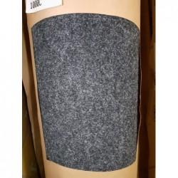 Sol textile aiguilleté (Noir) FORBO 40m²