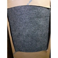 Sol textile aiguilleté (Noir/Brun) FORBO 80m²
