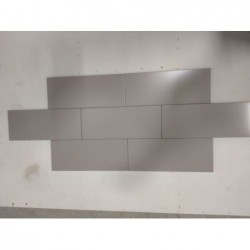 FAIENCE 20x50 NABUKO GRIS GALET MAT (1,4m²/U)