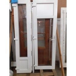 Porte fenêtre 2 ouvrants SECURIT 1/3 2/3 PVC...
